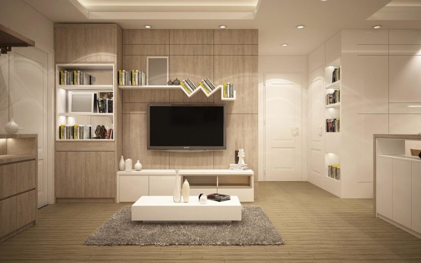 Modern apartment in the city center